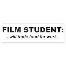 Film student 1 Bumper Bumper Sticker
