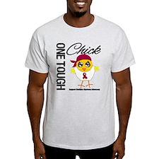 Multiple Myeloma OneToughChick T-Shirt