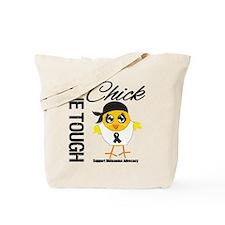 Melanoma One Tough Chick Tote Bag
