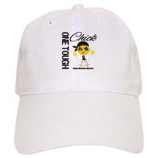Melanoma One Tough Chick Baseball Cap