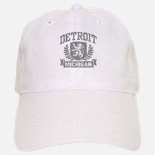 Detroit Michigan Baseball Baseball Cap
