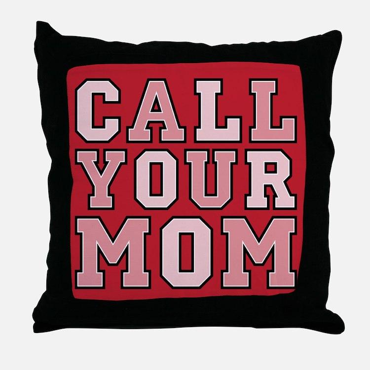 Dorm Room Throw Pillow