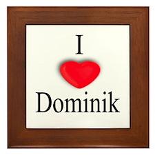 Dominik Framed Tile