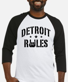 Detroit Rules Baseball Jersey