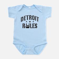 Detroit Rules Infant Bodysuit