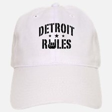 Detroit Rules Baseball Baseball Cap