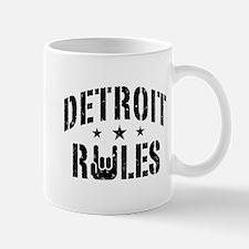 Detroit Rules Mug