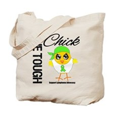 Lymphoma One Tough Chick Tote Bag