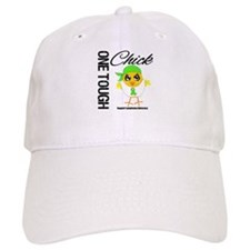 Lymphoma One Tough Chick Baseball Cap