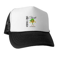 Lymphoma One Tough Chick Trucker Hat