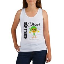 Lymphoma One Tough Chick Women's Tank Top