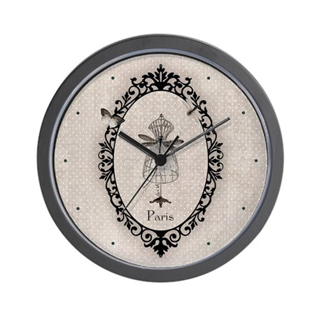 Tailor's Model /Dragonfly /Pe Wall Clock