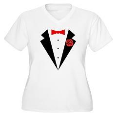 Funny Tuxedo [red T-Shirt