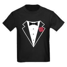 Funny Tuxedo [red rose] T