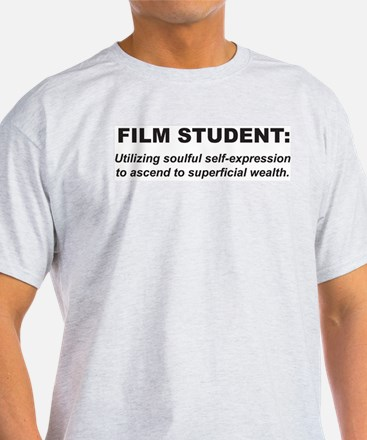 Film Student 2 Ash Grey T-Shirt