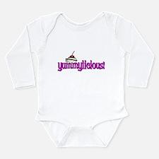 yummylicious Long Sleeve Infant Bodysuit
