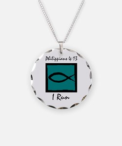 Christian Runner's Necklace
