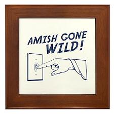 """""""Amish Gone Wild!"""" Framed Tile"""