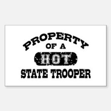 Property of a Hot State Trooper Decal