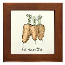 les carottes Framed Tile
