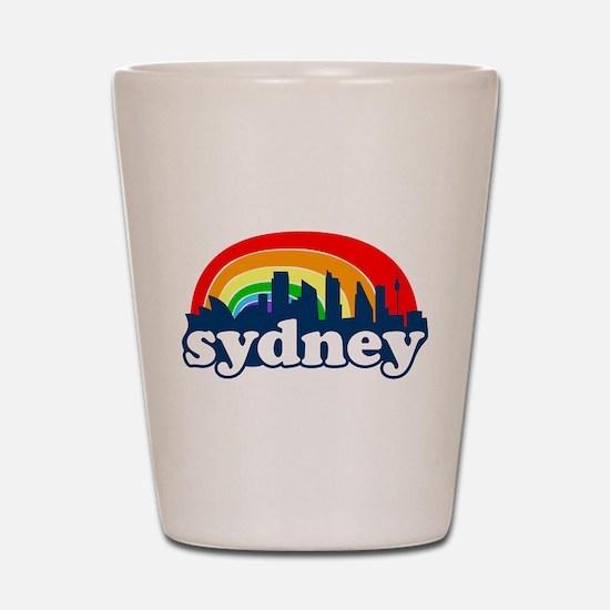 Unique Sydney Shot Glass