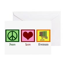 Peace Love Kwanzaa Greeting Cards (Pk of 20)