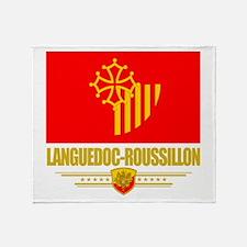 Languedoc-Roussillon Throw Blanket