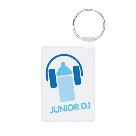 Junior Dj - Icon - Aluminum Photo Keychain