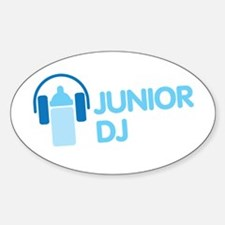 Junior Dj - Icon - Decal