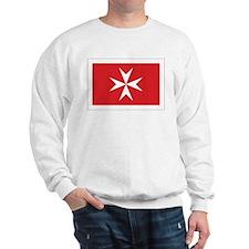 Malta Civil Ensign Sweatshirt