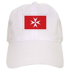 Malta Civil Ensign Baseball Baseball Cap