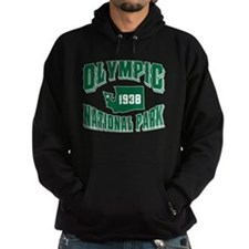 Olympic Old Style Green Hoodie
