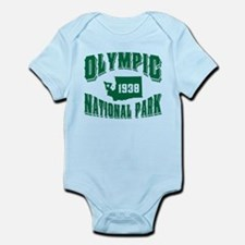 Olympic Old Style Green Infant Bodysuit