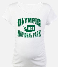 Olympic Old Style Green Shirt