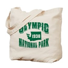 Olympic Old Style Green Tote Bag