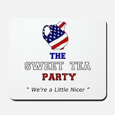 Sweet Tea Party Mousepad