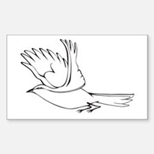 Mockingbird Decal