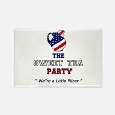 Sweet Tea Party Rectangle Magnet