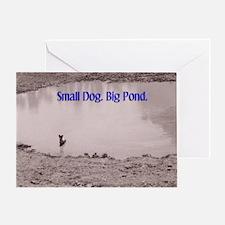 Small Dog Greeting Card