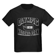 Olympic Old Style Black T