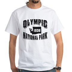 Olympic Old Style Black White T-Shirt