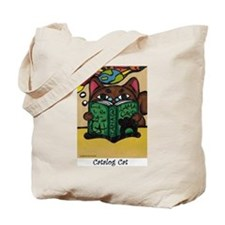 Malibu Milford, The Surfing Cat Tote Bag