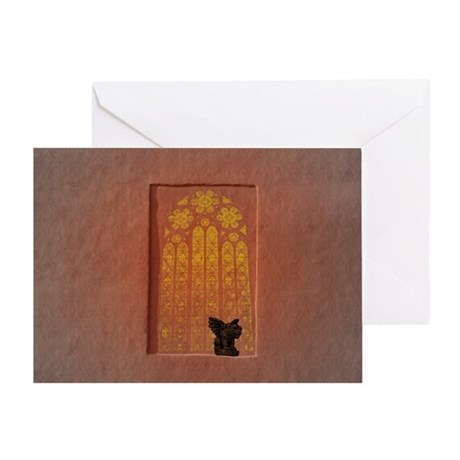 Gothic Dreams Greeting Card (blank inside)