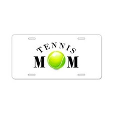 Tennis Mom (basic) Aluminum License Plate