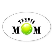Tennis Mom (bold) Decal