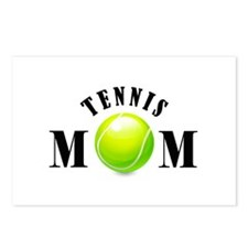 Tennis Mom (bold) Postcards (Package of 8)