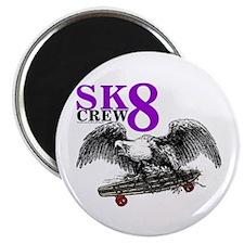"SK8 CREW 8 2.25"" Magnet (10 pack)"