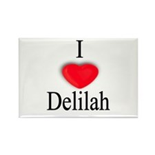 Delilah Rectangle Magnet