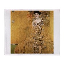 Gustav Klimt Throw Blanket