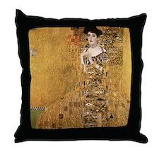 Gustav Klimt Throw Pillow